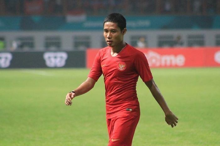Evan Dimas, salah satu calon kapten untuk laga Timnas Indonesia vs Singapura Piala AFF 2018