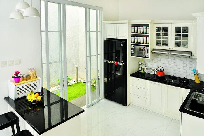 Inspirasi Desain Dapur Bentuk L Luasnya Hanya 3 Meter Persegi