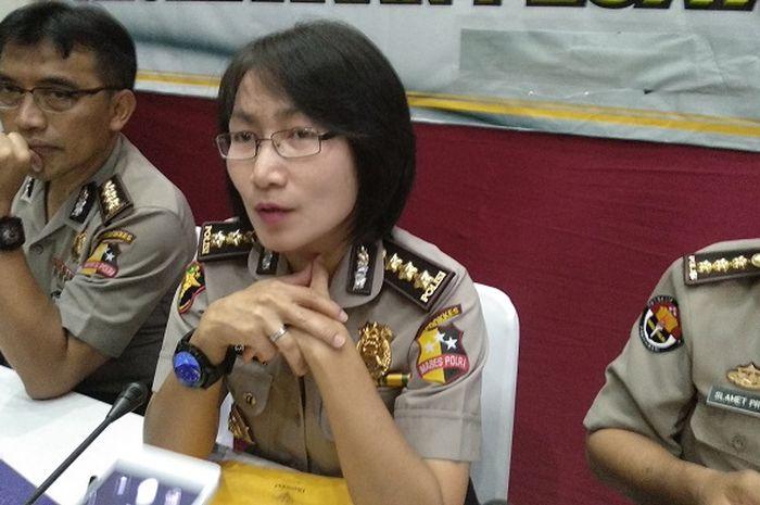 Kombes Lisda Cancer selaku Kepala Bidang DVI di RS Polri Kramat Jati, Jakarta Timur.