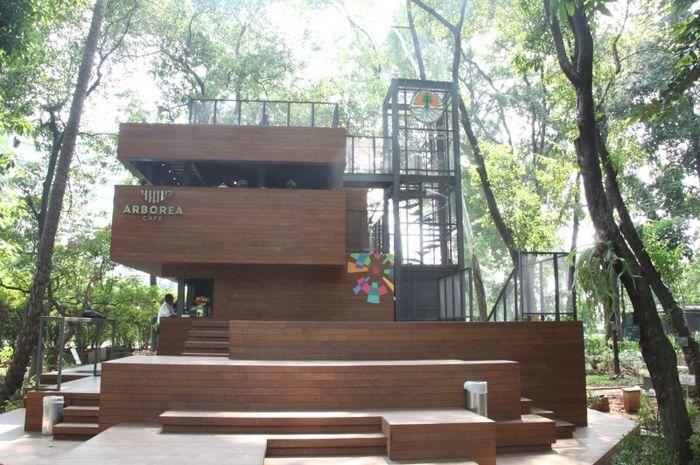 Arborea Cafe, kafe yang hits di Jakarta