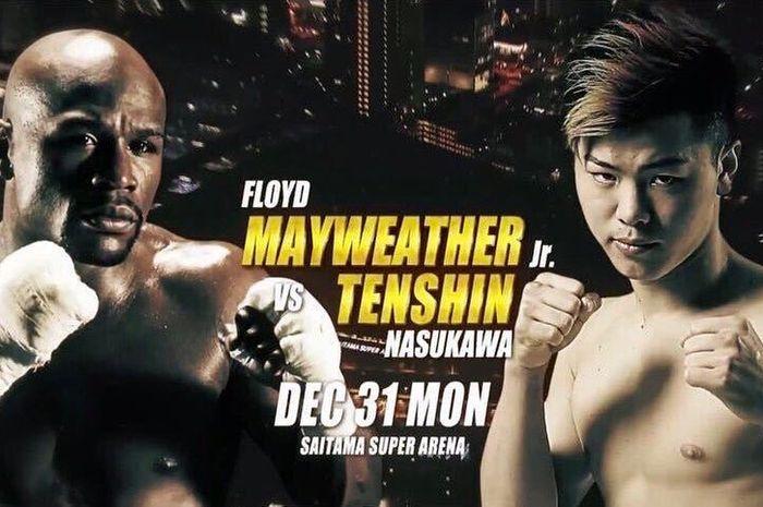 Floyd Mayweather akan berduel melawan Tenshin Nasukawa pada bulan Desember mendatang