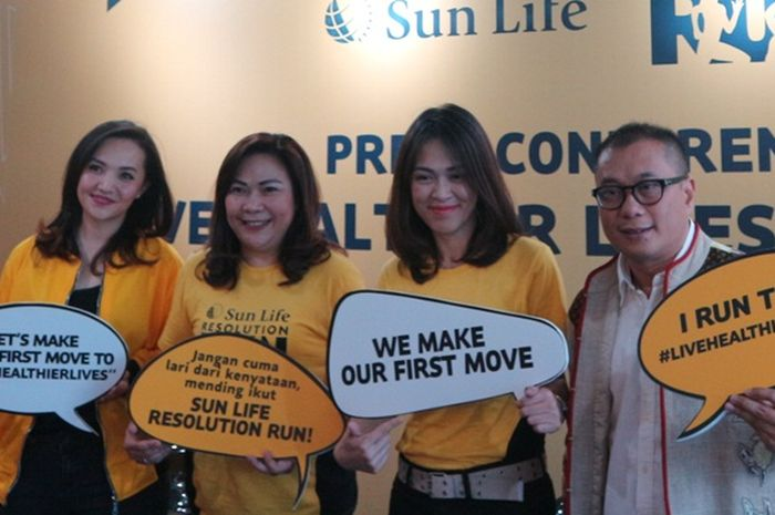 Sun Life Financial kampanye hidup sehat melalui Sun Life Resolution Run