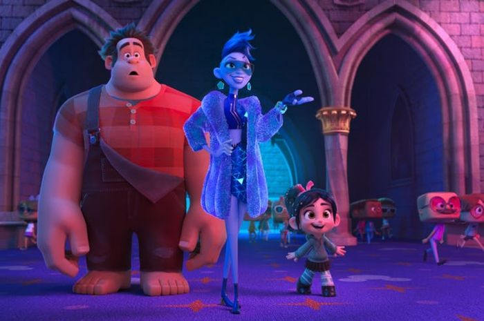 Tokoh Yesss dalam film Ralph Breaks the Internet