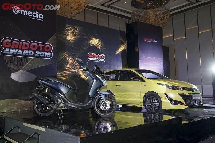 Yuk Coba Sensasi Mengendarai Mobil dan Motor Peraih GridOto Award 2018!