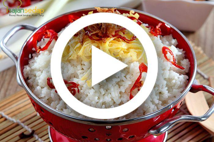 (Video) Resep Masak Nasi Uduk Enak dan Sederhana, Pemula Pasti Bisa Membuat Sarapan Esok Hari
