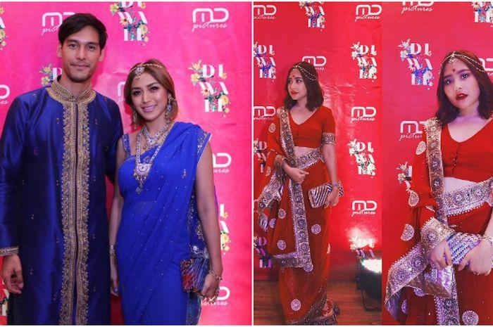 Penampilan para artis saat rayakan Diwali bersama