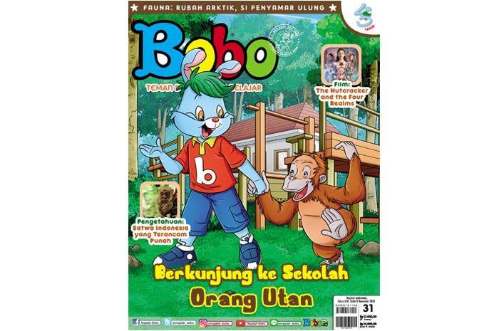 Majalah Bobo Edisi 31 (Terbit 8 November 2018)