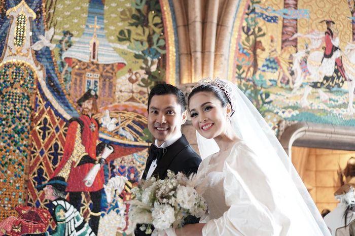Pernikahan Sandra Dewi bak keluarga kerajaan