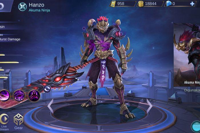 Inilah Skill Hanzo, Assassin Baru Mobile Legends yang Wajib