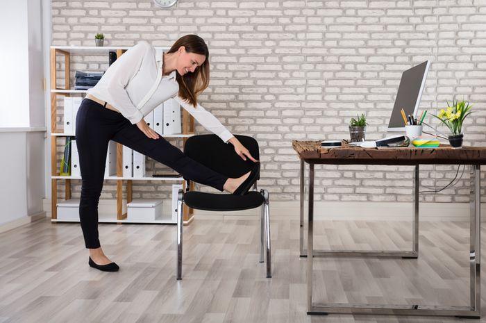 Olahraga kursi bagi si workaholic