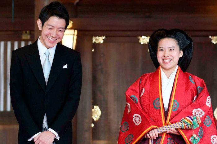 Putri Ayako dan Kei Moriya