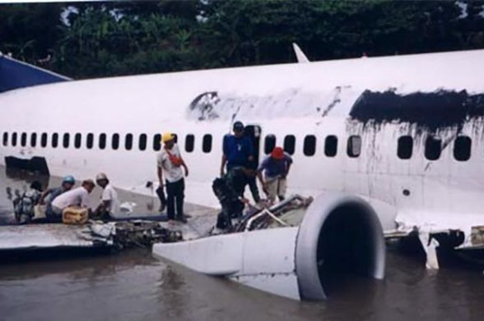Pesawat Garuda Indonesia.