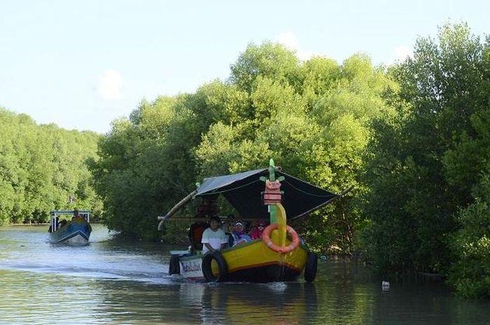 Hutan Mangrove di Indramayu