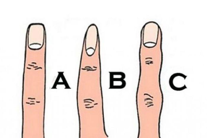 bentuk ujung jari menentukan
