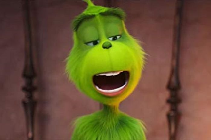 The Grinch monster hijau yang benci hari natal