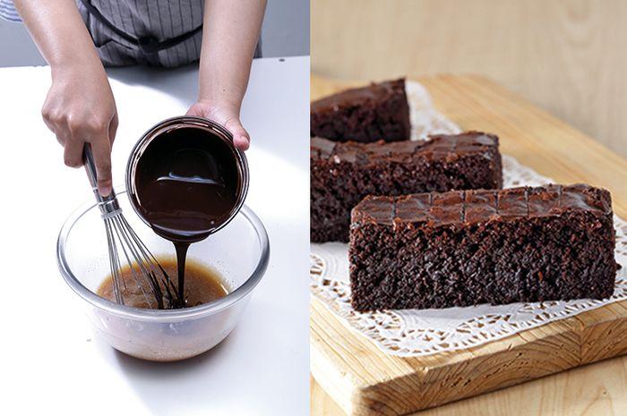 Tips Membuat Brownies Enak, 2 Kesalahan Inilah Penyebab Brownies Keras Setelah Matang