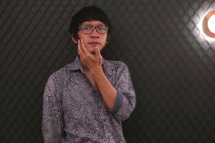 Aming Sugandhi saat ditemui di Plaza Indonesia di Plaza Senayan, Jakarta Pusat, semalam.