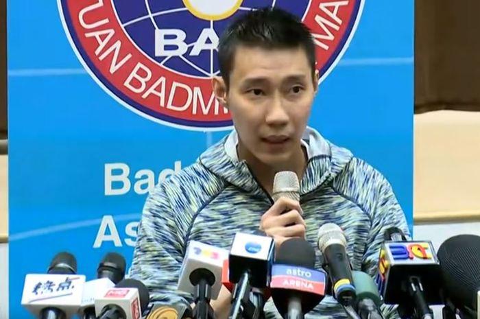 Lee Chong Wei mengumumkan kembalinya dirinya setelah menderita kanker hidung.