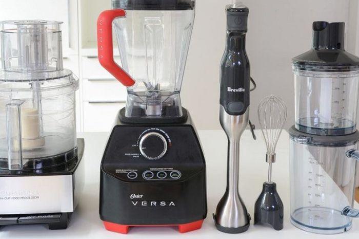 Food processor, blender, atau juicer memiliki fungsi dan hasil akhir memprosesan yang berbeda.