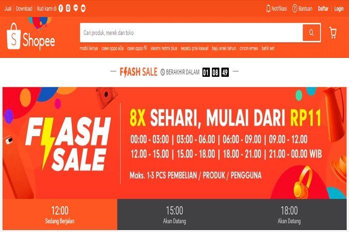 2 Hape ini Terjual Habis Kurang dari 30 Menit di Flash Sale Shopee