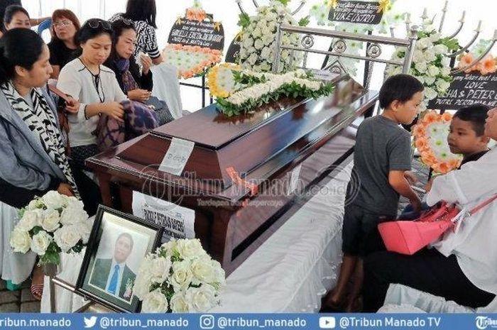 Jenazah Korban Lion Air JT610 Jadi Rebutan Para Istri dan Buat Acara Pemakamannya Sempat Tertunda