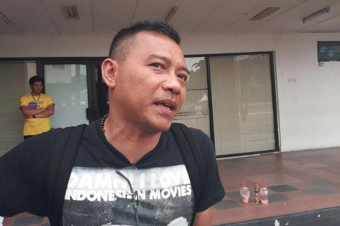 Anang Hermansyah di Gambir Expo, Kemayoran, Jakarta Pusat, Sabtu, 10/11/2018.