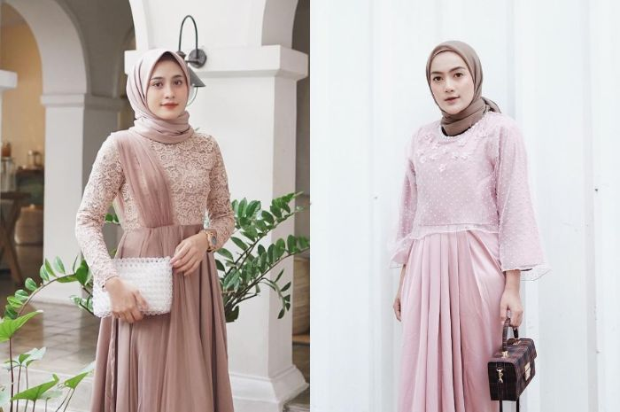 5 inspirasi dress untuk busana kondangan ala selebgram hijabers