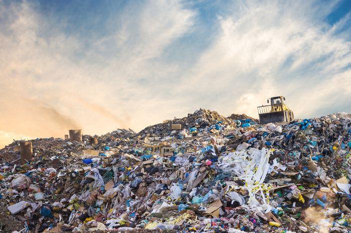 Tempat pembuangan sampah.