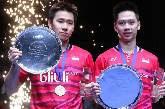 Marcus dan Kevin, All England 2017