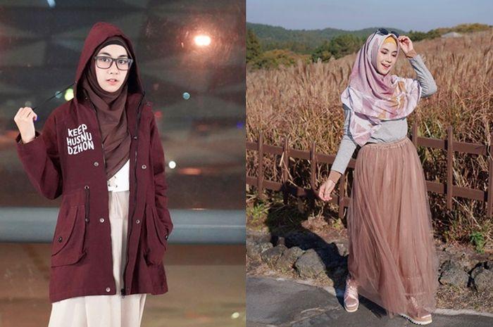 3 Model Rok Hijab Syar'i Kekinian Favorit Anisa Rahma Eks Cherrybelle