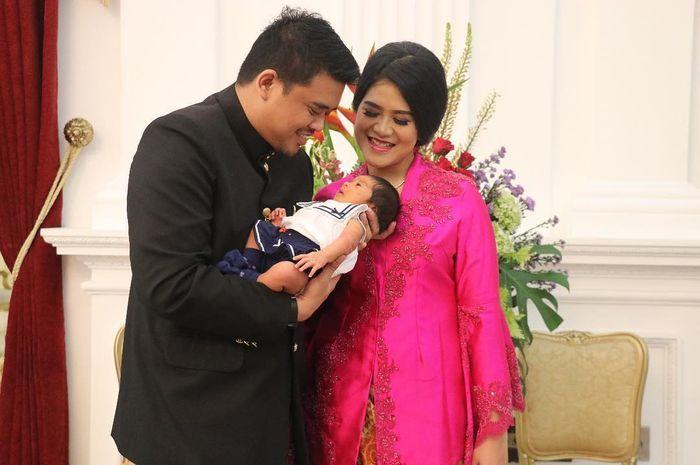 Keluarga Kahiyang Ayu dan Bobby Nasution.