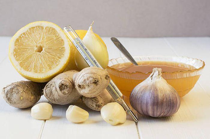 Menurunkan kolesterol dengan jahe, bawang putih dan madu