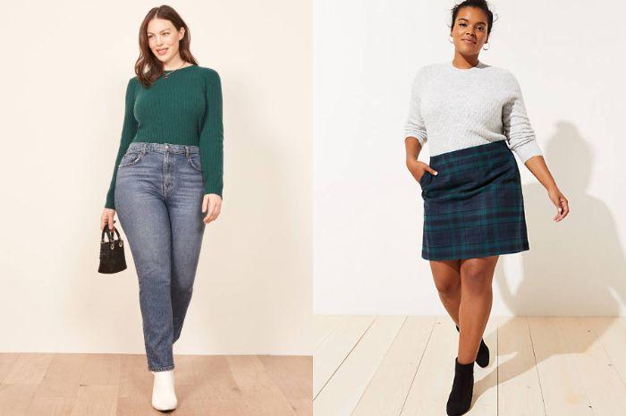 3 fashion item untuk wanita yang memiliki tubuh berisi