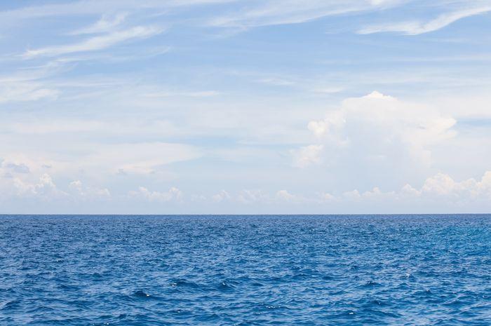 ilustrasi laut di samudra pasifik