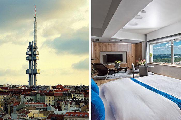 Hotel dengan satu kamar