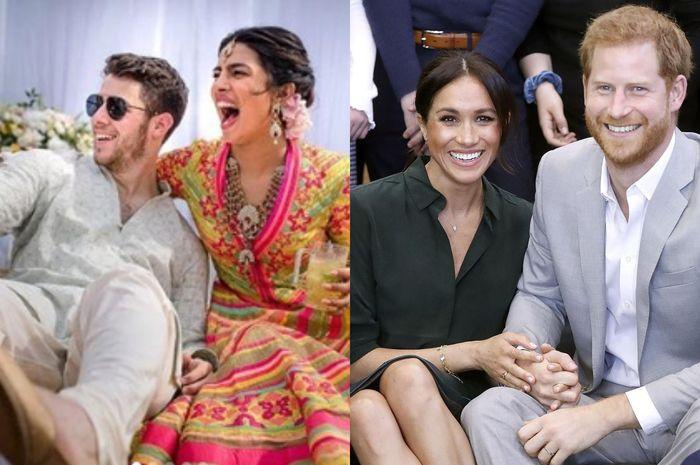 Meghan Markle tak hadir di pernikahan Priyanka Chopra