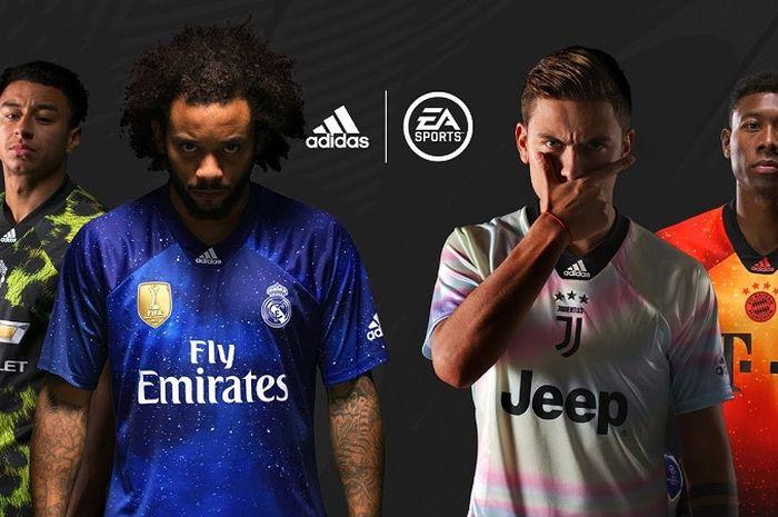pick up e1b60 a884b EA Sports x adidas Rilis Jersi Spesial Manchester United ...