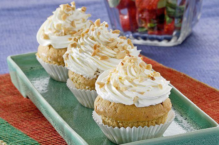 Resep Membuat Cup Cake Kapucino Kacang