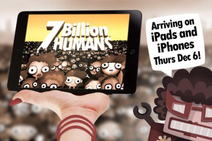 '7 Billion Humans' Dari Pengembang Dibalik 'Human Resource Machine' Siap Hadir di App Store
