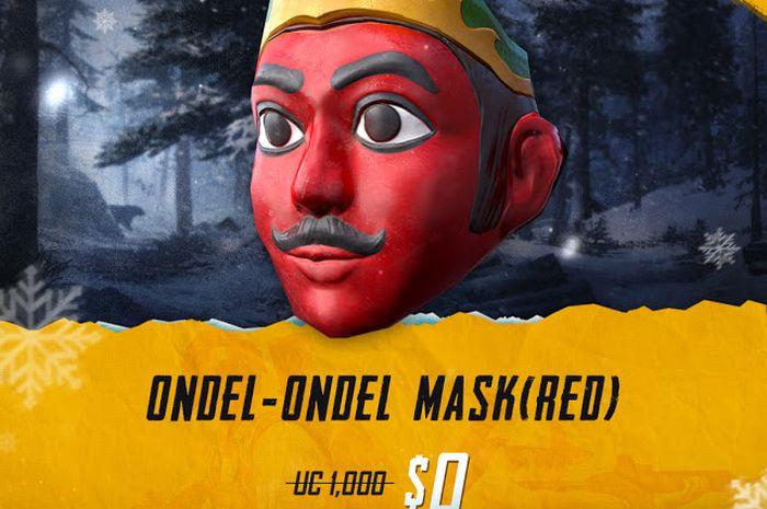 Topeng Ondel-Ondel di PUBG Mobile