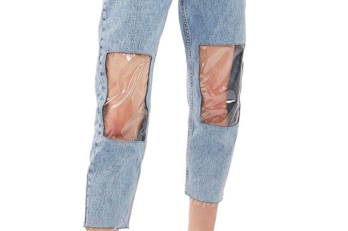 clear plastic fashion