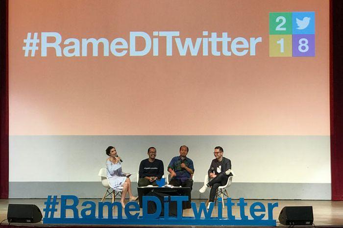 Twitter Indonesia Umumkan #RameDiTwitter 2018: Tahunnya Viral Beragam Topik