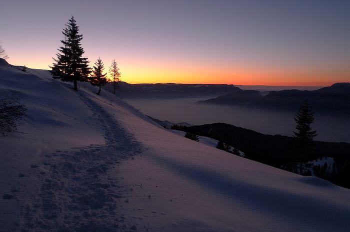 Ilustrasi solstice musim dingin