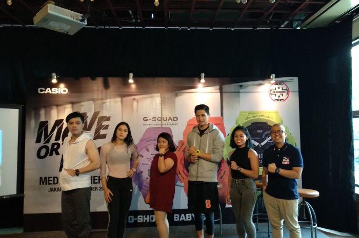Mendukung Hidup Sehat, Casio Luncurkan Koleksi Sport Watch Terbaru dari G-Shock dan Baby-G
