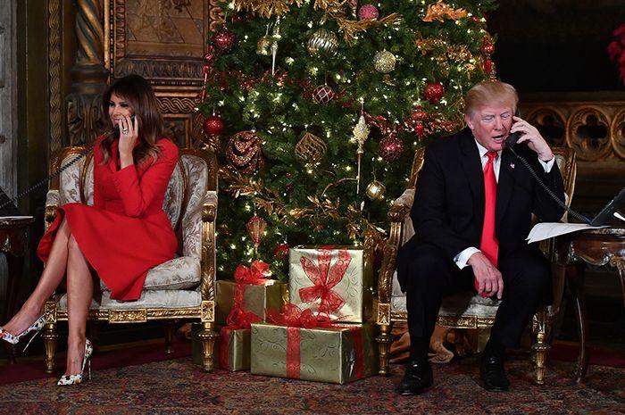 Intip Yuk Dekorasi Natal Gedung Putih Amerika ala Melania Trump!