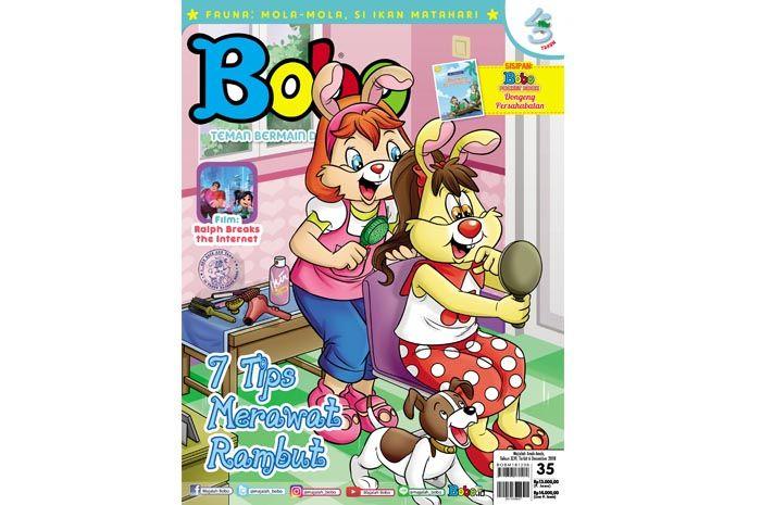 Majalah Bobo edisi 3546 (Terbit 6 Desember 2018)