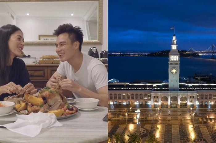 Hotel saat Baim Wong Paula Honeymoon