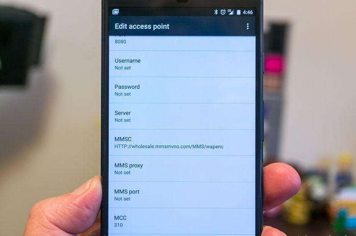 Cara setting APN di smartphone