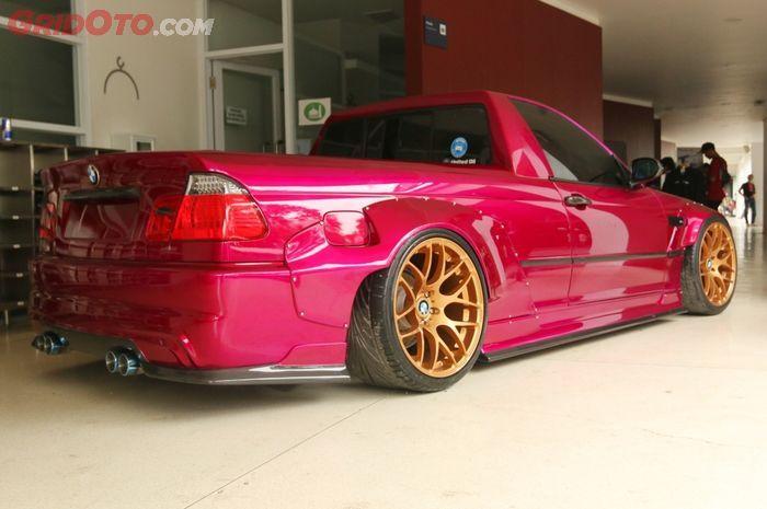 Ini Dia BMW Seri-3 Sedan yang Dibikin jadi pikap