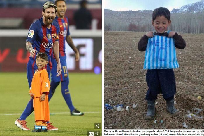 Lionel Messi dan Murtaza Ahmadi